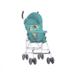 Lorelli Bertoni kolica Light Green Happy Animals