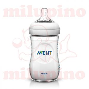 Avent Natural plastična flašica 1m+ 260ml