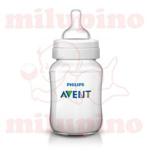 Avent plastična flašica Classic Plus 1m+ 260ml