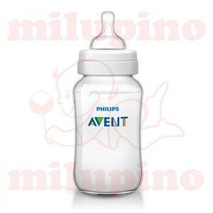 Avent plastična flašica Classic Plus 3m+ 330ml