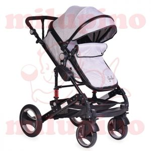 Cangaroo kolica Gala Light Grey