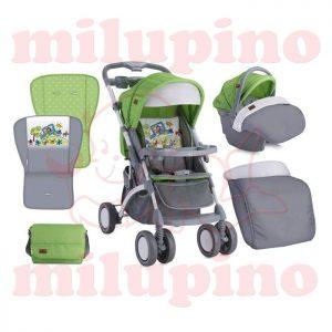 Lorelli Bertoni kolica Apollo set Green and Grey Car