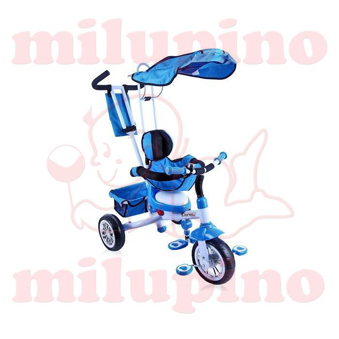 Lorelli Bertoni dečiji tricikl B301B Blue and White