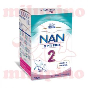 nestle nan optipro 2 mleko 600g