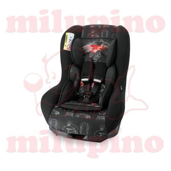 Auto sedište Beta Plus Beige Black and Red Car 0-18 kg