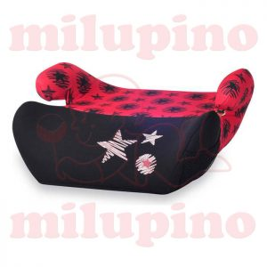 Auto sedište Easy Black and Red Stars 15-36kg