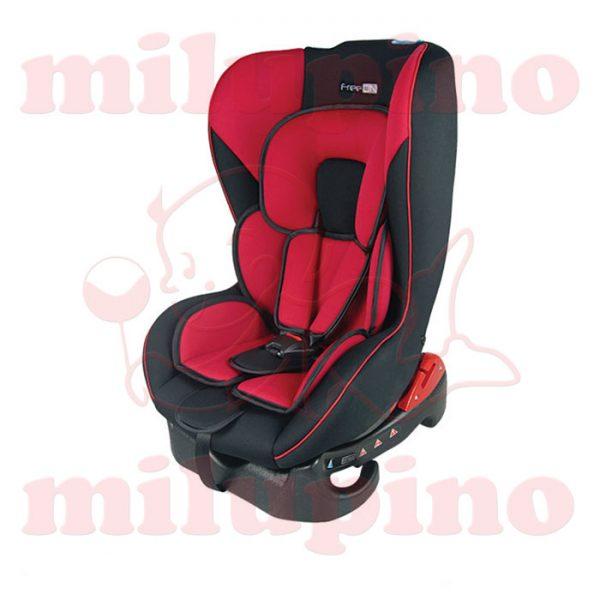 Auto sedište Erida Red and Black 0-18kg