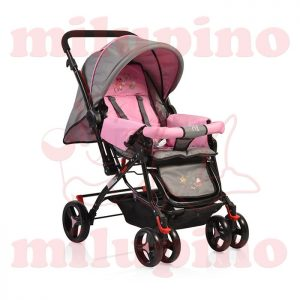 Cangaroo kolica Mina Grey and Pink