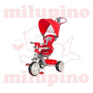 Chipolino dečiji tricikl Denver 4u1 Red