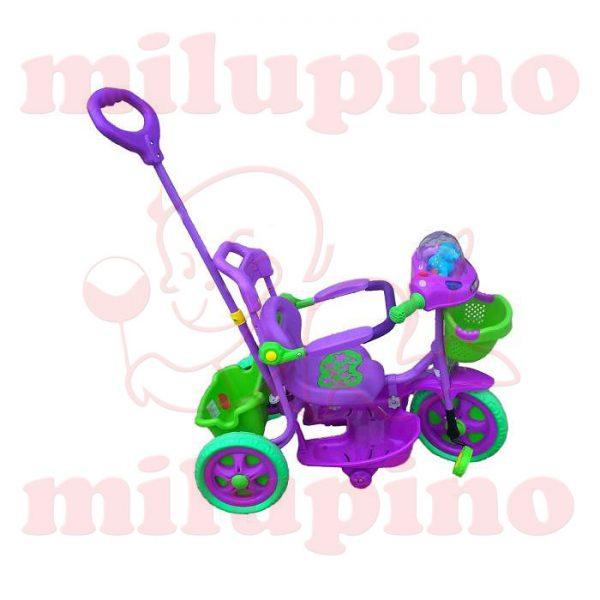 Family dečiji tricikl Purple and Green