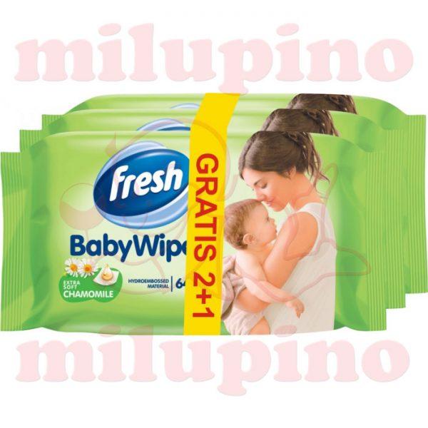 Fresh Baby Wipes vlažne maramice