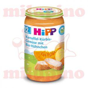 Hipp kašica Piletina sa krompirom i bundevom 250g
