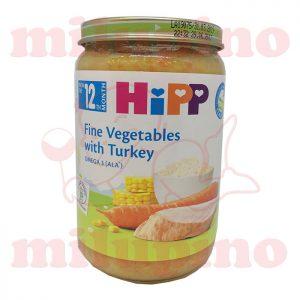 Hipp kašica Povrće sa ćuretinom 220g