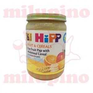 Hipp kašica Voće i žitarice 6+m 190g