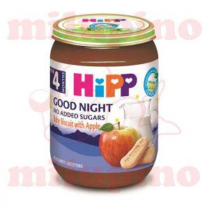 Hipp mlečna kašica za laku noć keks sa jabukom 190g