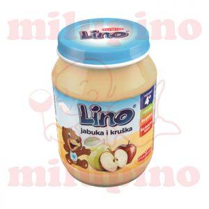Lino kašica jabuka i kruška 190g