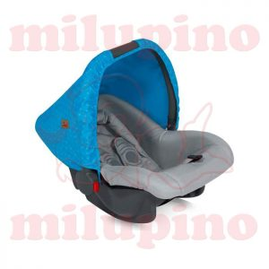 Lorelli Bertoni auto sedište Bodyguard Blue and Grey Hello Bear 0-10kg