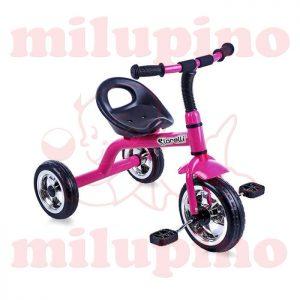 Lorelli Bertoni dečiji tricikl A28 Dark Rose