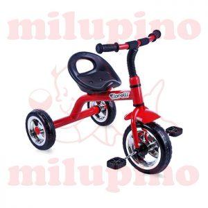 Lorelli Bertoni dečiji tricikl A28 Red