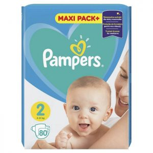 Pampers Active Baby Jumbo Pack 2 (4-8kg) 80 kom