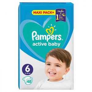 Pampers Active Baby Jumbo Pack Extra Large 6 (13-18 kg) 48 kom