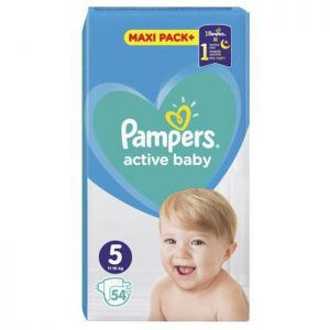 Pampers Active Baby Jumbo Pack Junior 5 (11-16kg) 54 kom
