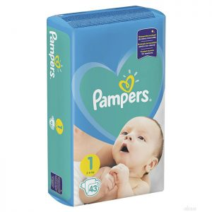 Pampers New Baby Newborn 1 (2-5kg) 43 kom