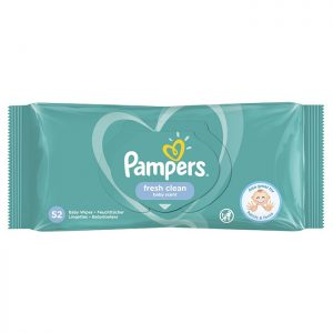 Pampers vlažne maramice fresh clean 52 kom