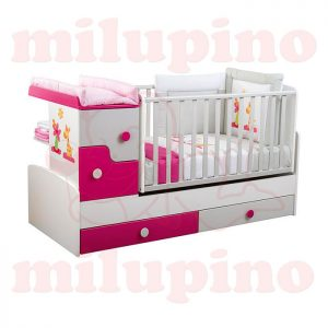Bebi snovi Bedy krevetac 4u1 Pink