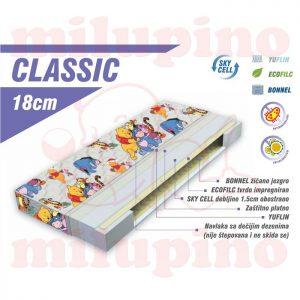 Luka dušek Classic 120 x 60cm