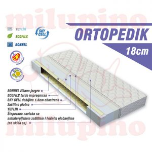 Luka dušek Ortopedik 120 x 60cm
