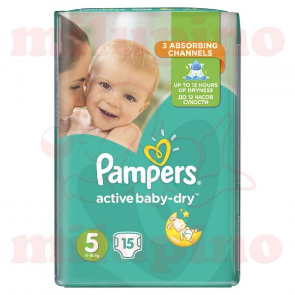 Pampers Active Baby-Dry Junior 5