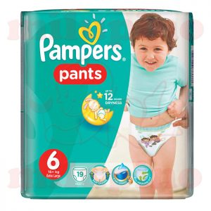 Pampers Pants Extra Large 6 (16+kg) 19 kom