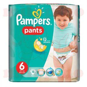 Pampers Pants Extra Large 6 (16+kg) 19 kom