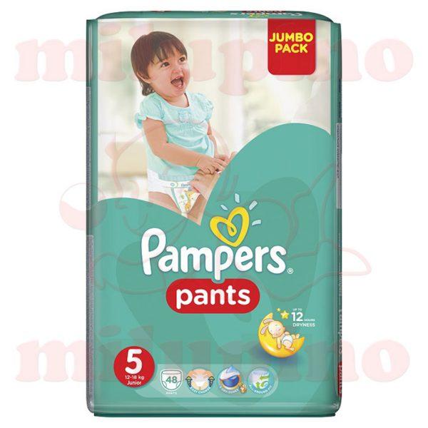 Pampers Pants Jumbo Pack Junior 5 (12-18kg) 48 kom