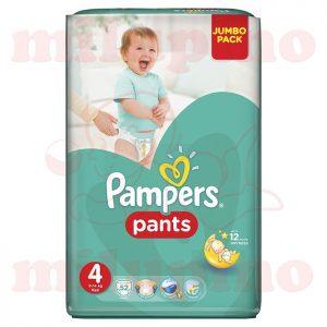Pampers PantsJumbo Pack Maxi 4 (9-14kg) 52 kom