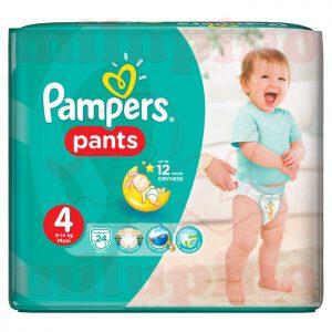 Pampers Pants Maxi 4 (9-14kg) 24 kom
