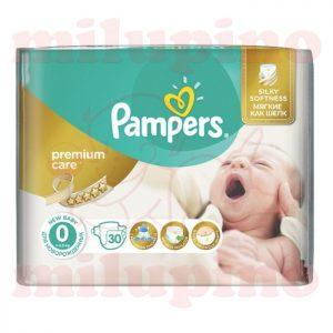 Pampers Premium Care 0 Micro (< 2,5kg) 30 kom