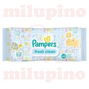 Pampers vlažne maramice fresh clean 64 kom