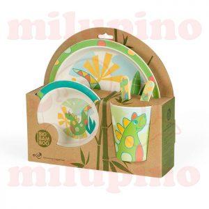 Pino Bambus set za jelo BB102 Dino
