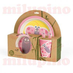 Pino Bambus set za jelo BB102 Leptir
