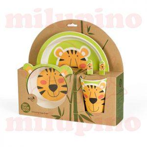 Pino Bambus set za jelo BB102 Tigar