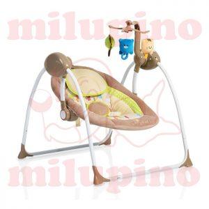 Cangaroo ležaljka Baby Swing Cappuccino