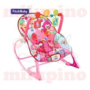 Fitch Baby ležaljka Pink