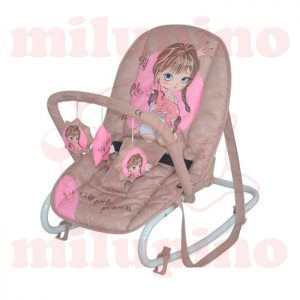 Lorelli Bertoni ležaljka Top Relax Beige and Rose Princess