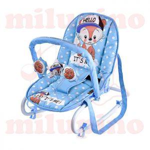 Lorelli Bertoni ležaljka Top Relax Blue Baby Fox