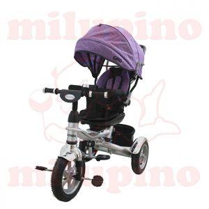 NouNou dečiji tricikl Giro Purple