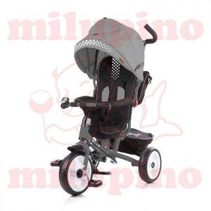 Chipolino dečiji tricikl Sportiko Grey