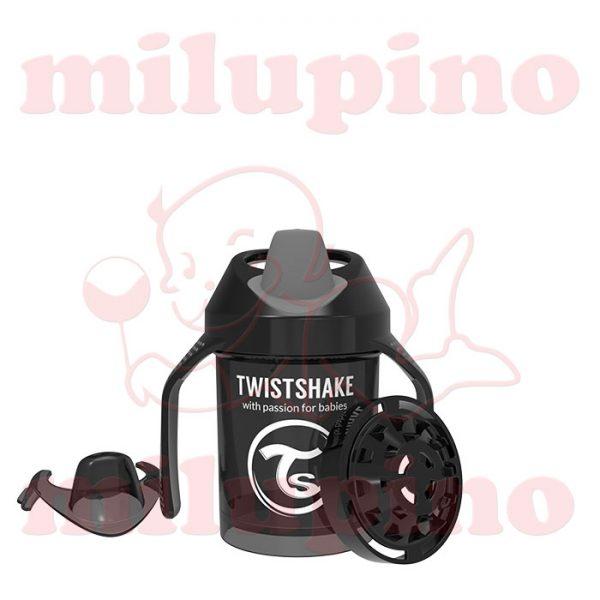Twistshake dečija flašica Pastel 230ml Crna