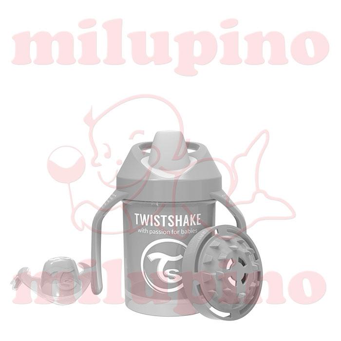 Twistshake dečija flašica Pastel 230ml Siva